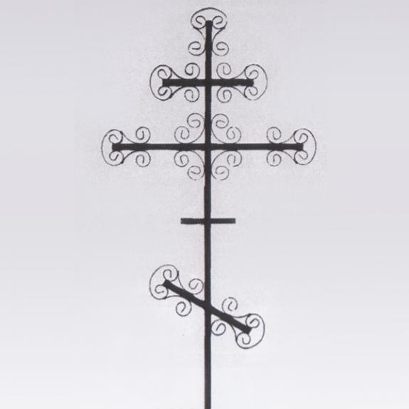 Крест на могилу из профильной трубы своими руками 37